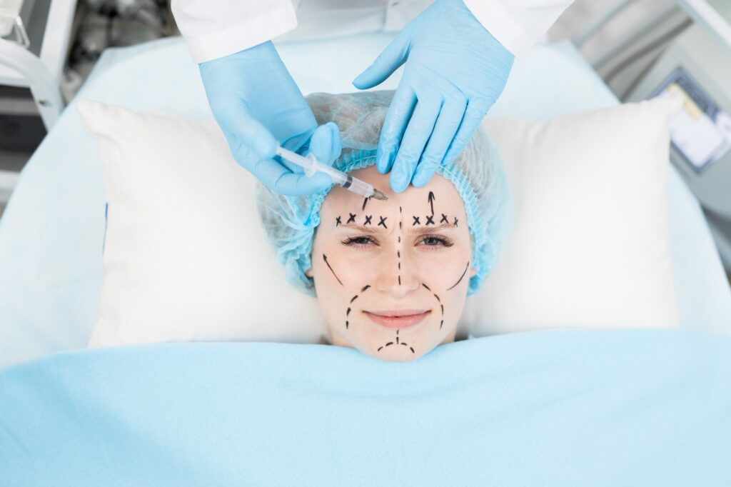 Anti-wrinkle injection